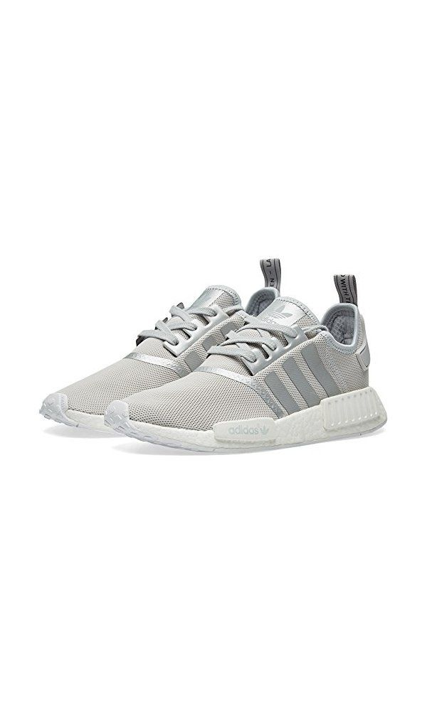 0 adidas womens nmd r1 silver white s76004 size 8 5