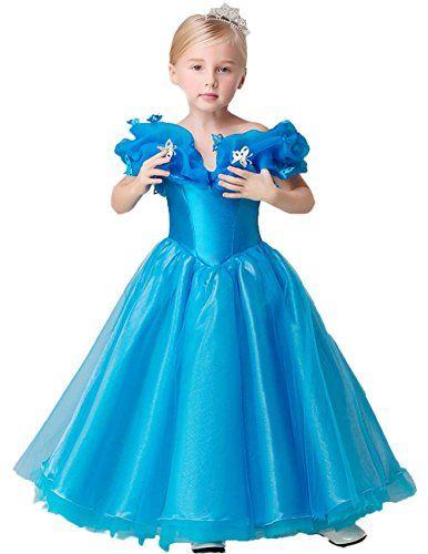 Ikerenwedding Organza Cosplay Cinderella Flower Girl Pageant Dresses Blue US06 Ikerenwedding http://www.amazon.com/dp/B01CTZEC84/ref=cm_sw_r_pi_dp_BV24wb1NSK7NR