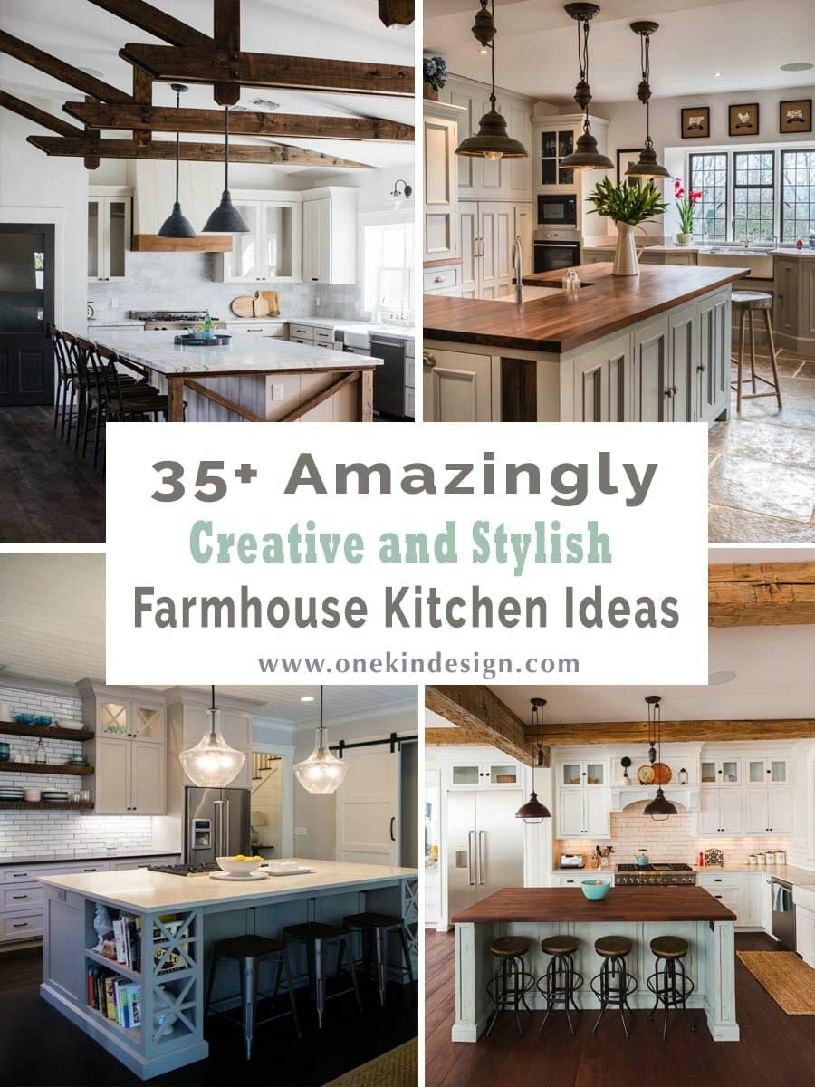 8+ Amazingly creative and stylish farmhouse kitchen ideas