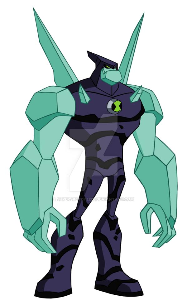 Uaf Diamondhead Omniverse Style Ben 10 Comics Ben 10 Alien Force Diamondhead