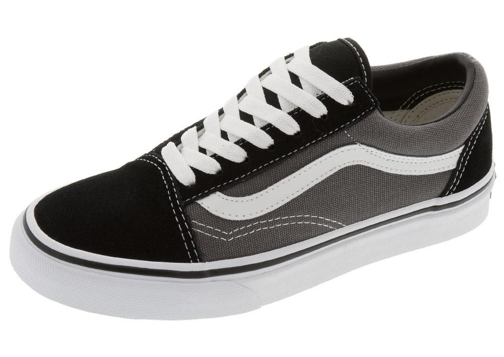 Vans Old Skool Black Pewter | Vans old skool, Vans black old