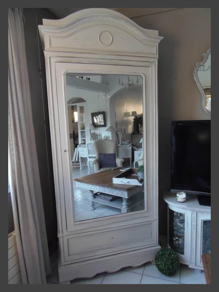 une seconde vie pour nos objets meubles anciens armoire 1900 revisit e par. Black Bedroom Furniture Sets. Home Design Ideas
