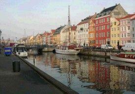 Te voet door Kopenhagen