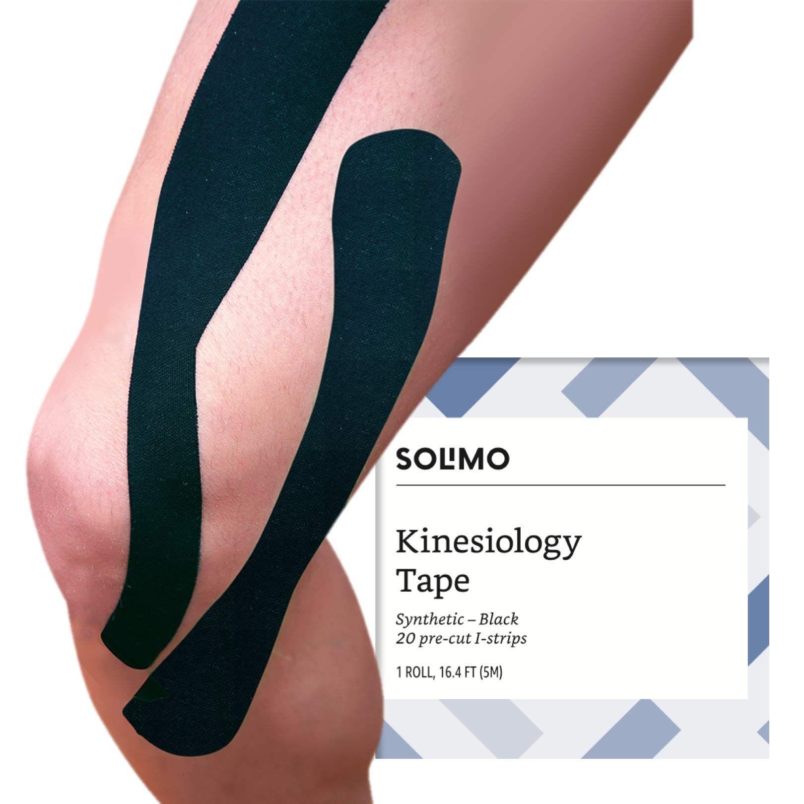 produits de commodité grosses soldes rétro Amazon Brand - Solimo Kinesiology Tape Synthetic I Strips ...