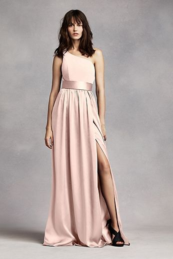 46e2eebc9953 White by Vera Wang Bridesmaid Collection … | Anything Pink | Bride…