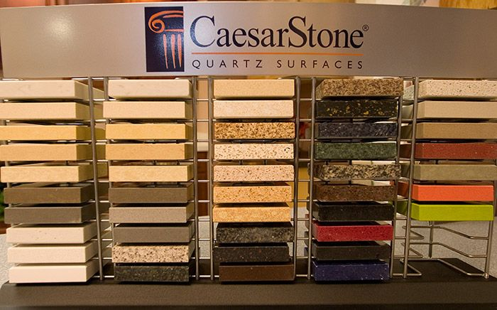 CaesarStone   Mini Sample Rack At Cabinets Etc. (2973 Castro Valley Blvd.,