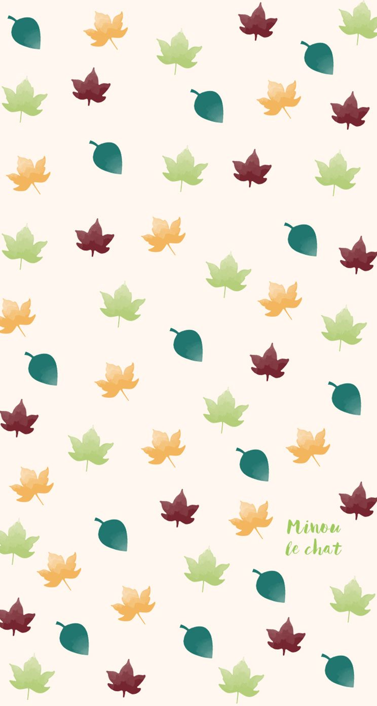 Autumn Fall Leaves iPhone Home Wallpaper PanPins Iphone