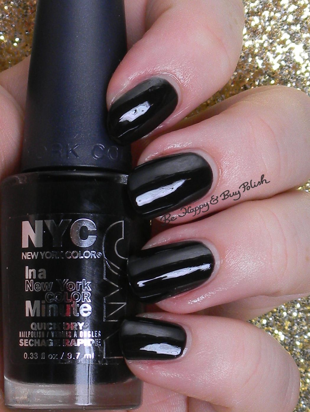 NYC New York Color Black Elixir | Be Happy And Buy Polish http ...