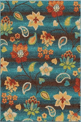 Orian Rugs Spoleto Garden Chintz Rugs | Rugs Direct