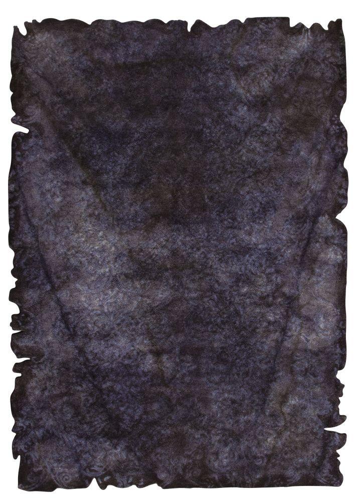 RugStudio presents Mat Vintage Jalwa 2 Charcoal Hand-Tufted, Good Quality Area Rug