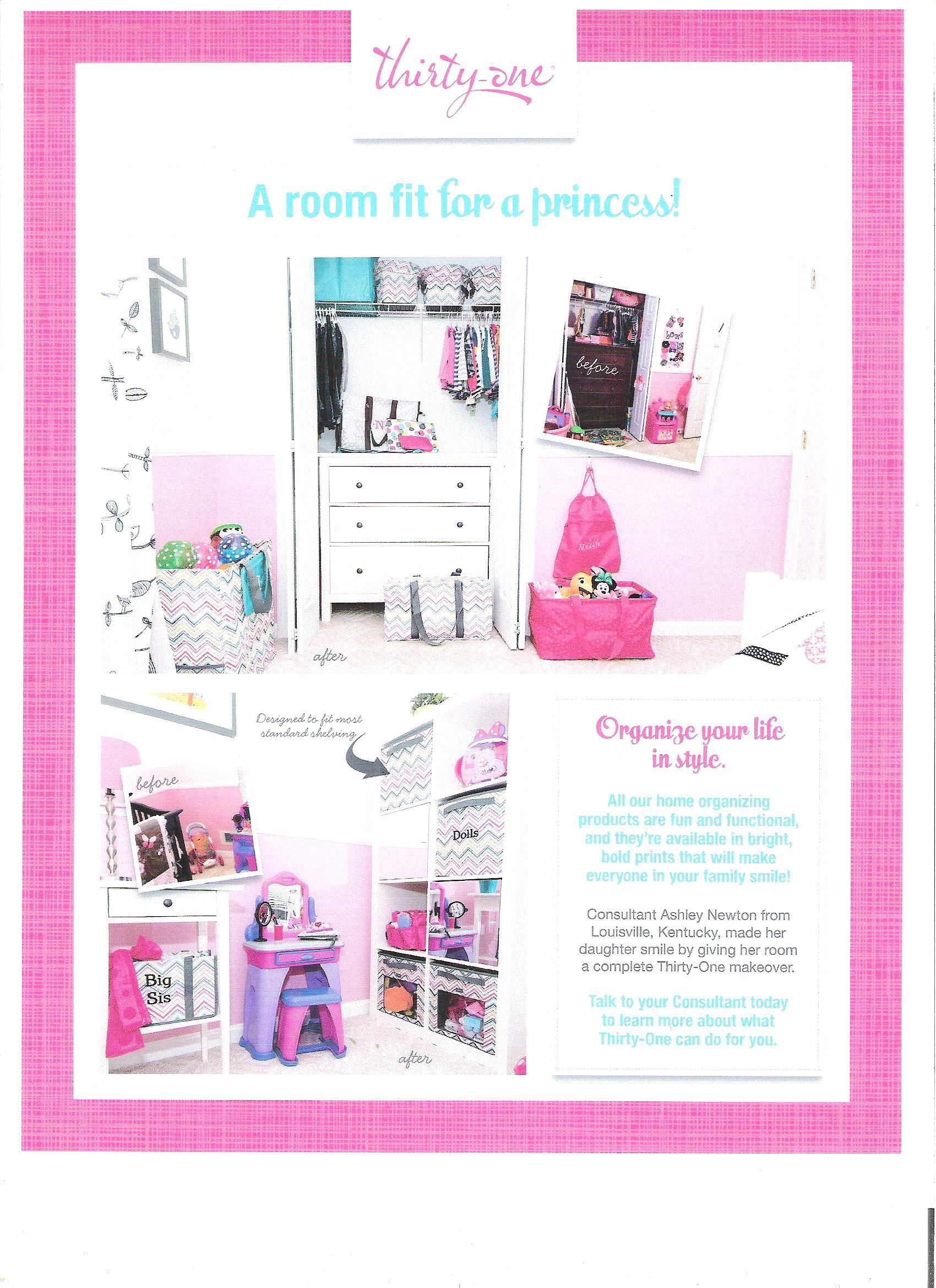 Organize any space with Thirty-One