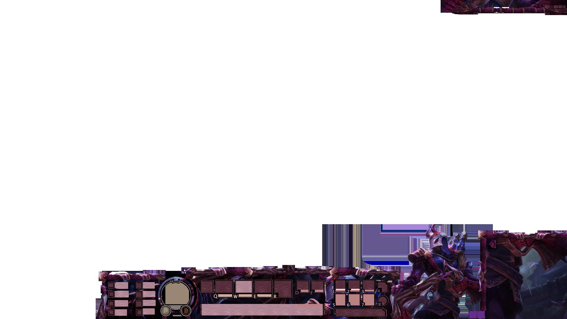 Bloodmoon Jhin Stream Overlay Overlays Streaming Artwork