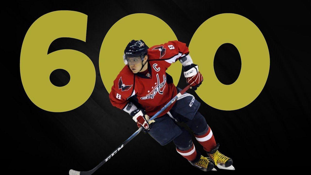 Alex Ovechkin Scores Goal 600 Alex Ovechkin Goals Washington Capitals