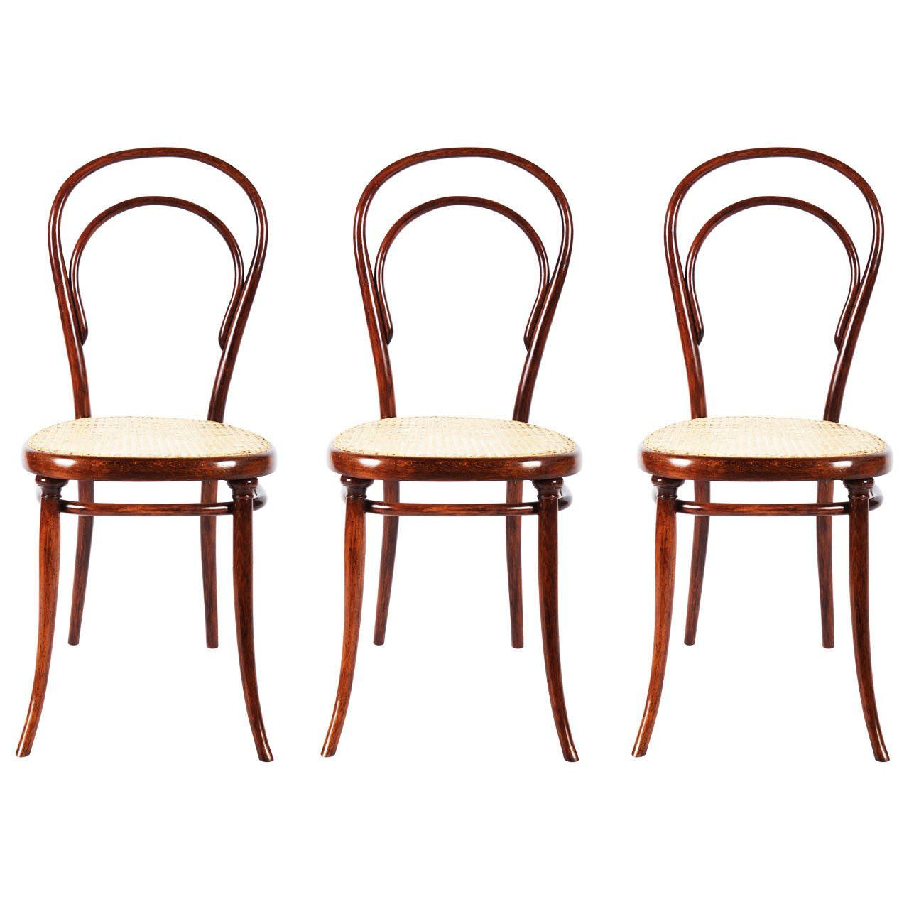 Bentwood Side Chair No. 14 with First Paper Label