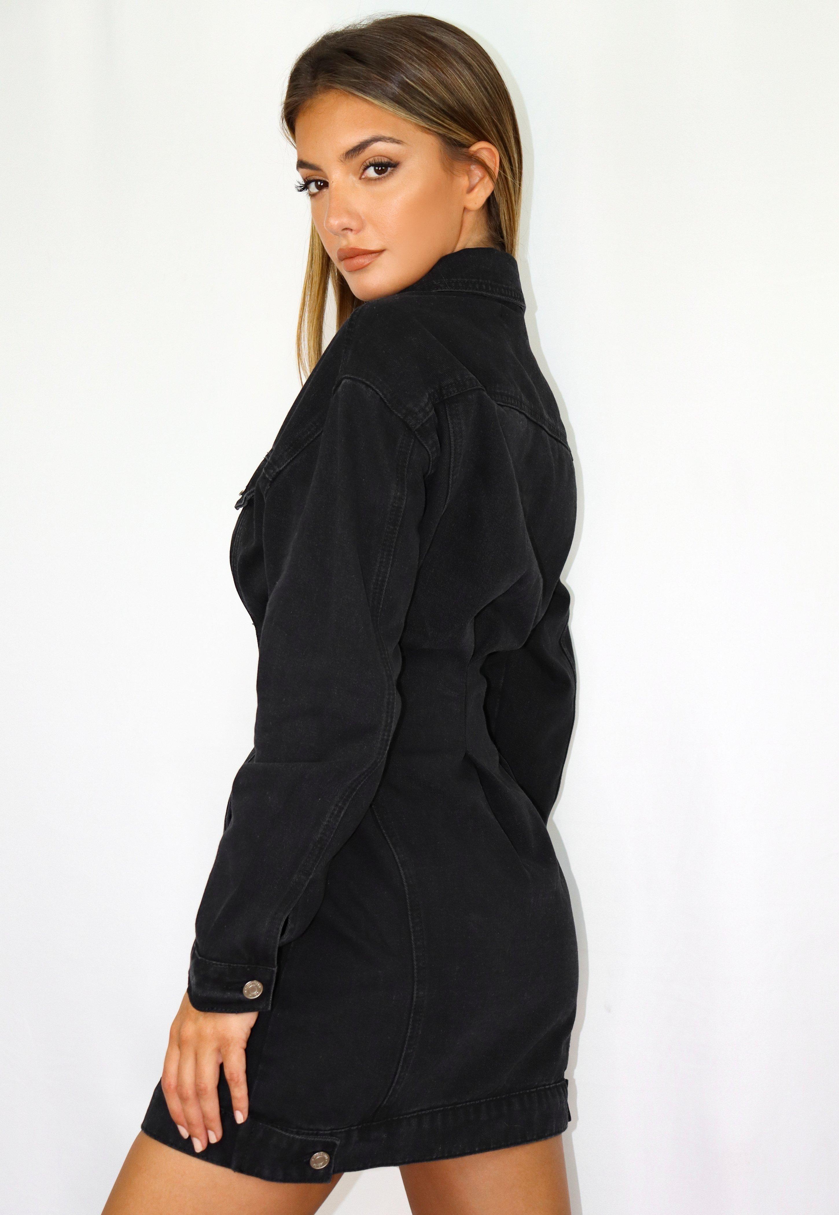47++ Cinched waist denim dress ideas