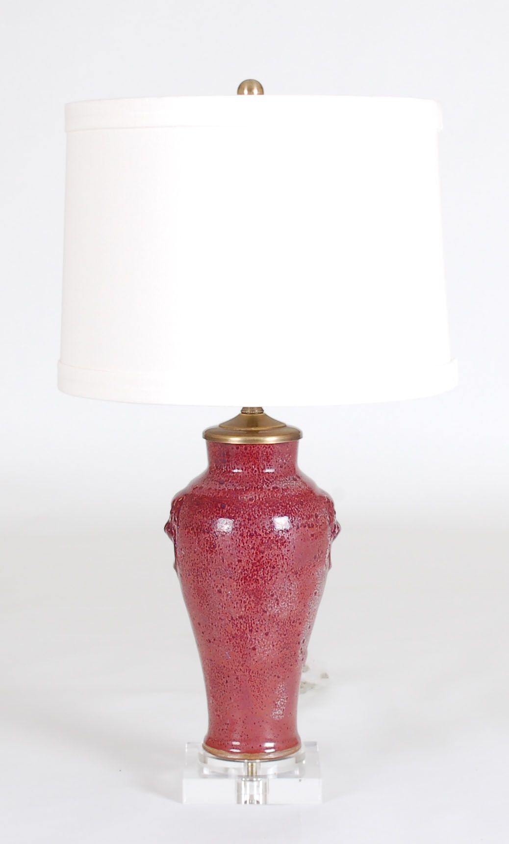 Oxblood Lamp: Avala And Summerour Lamps