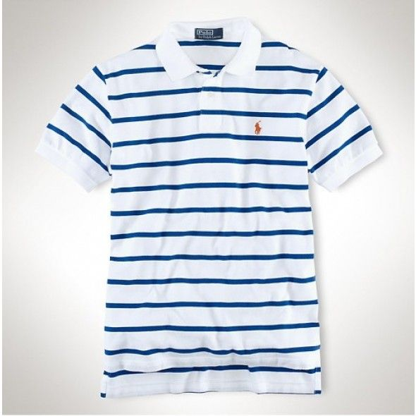 ralph lauren stripe polo for men!