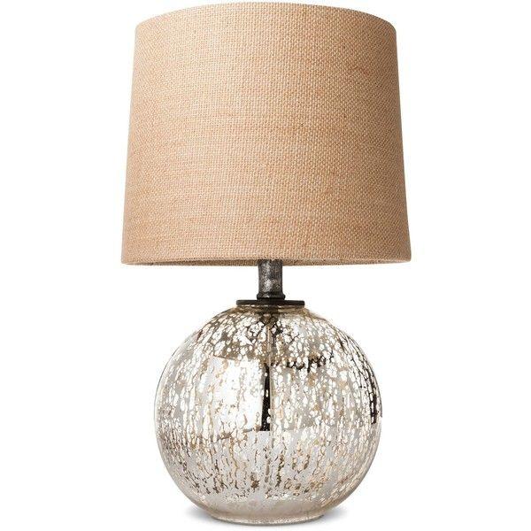 Mercury Glass Globe Accent Lamp Includes Cfl Bulb Threshold