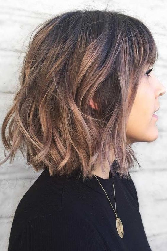 10 Cute Short Haircuts with Subtle Balayage – Short Haircut Trends 2020