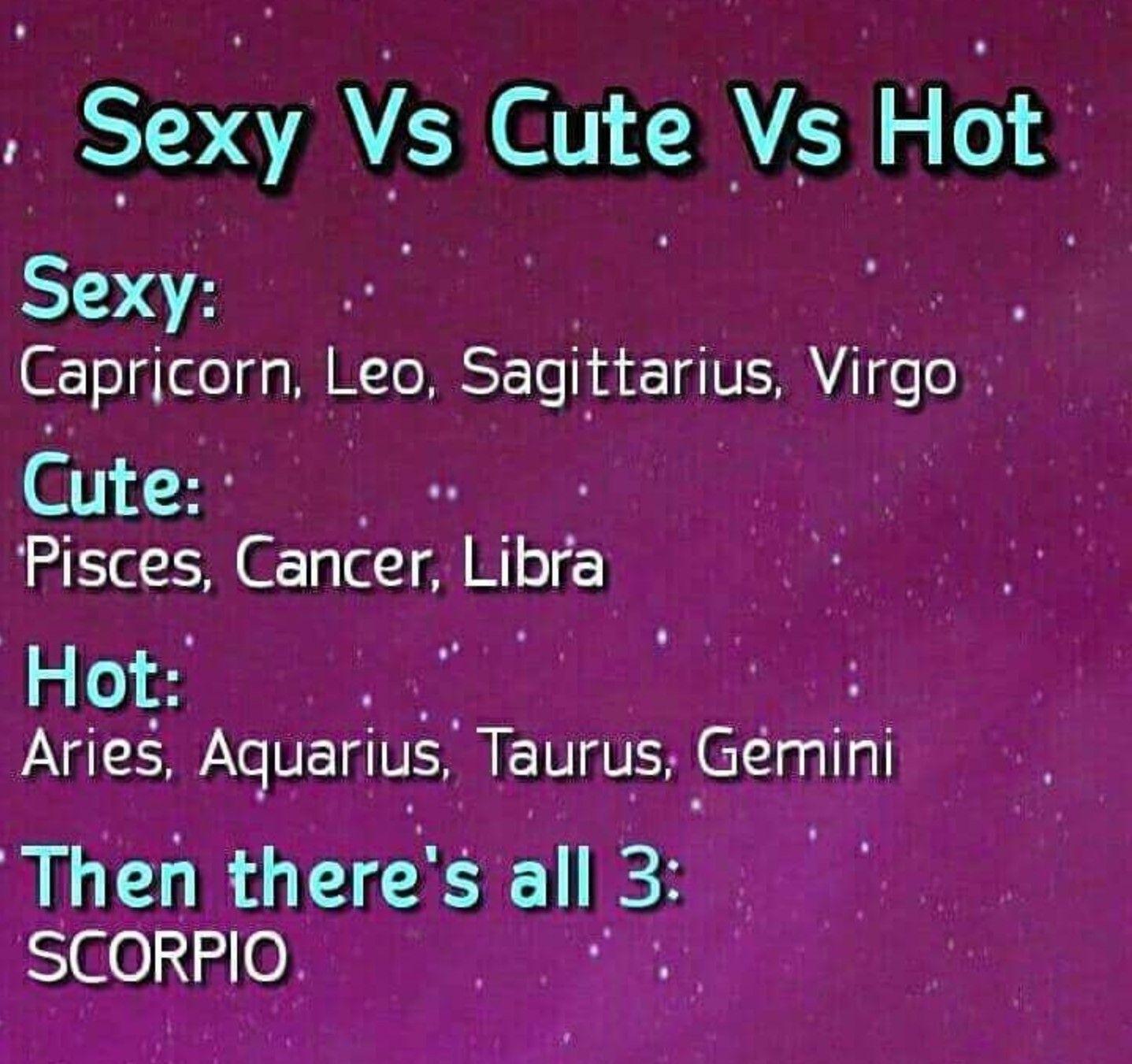 Scorpio and Aquarius