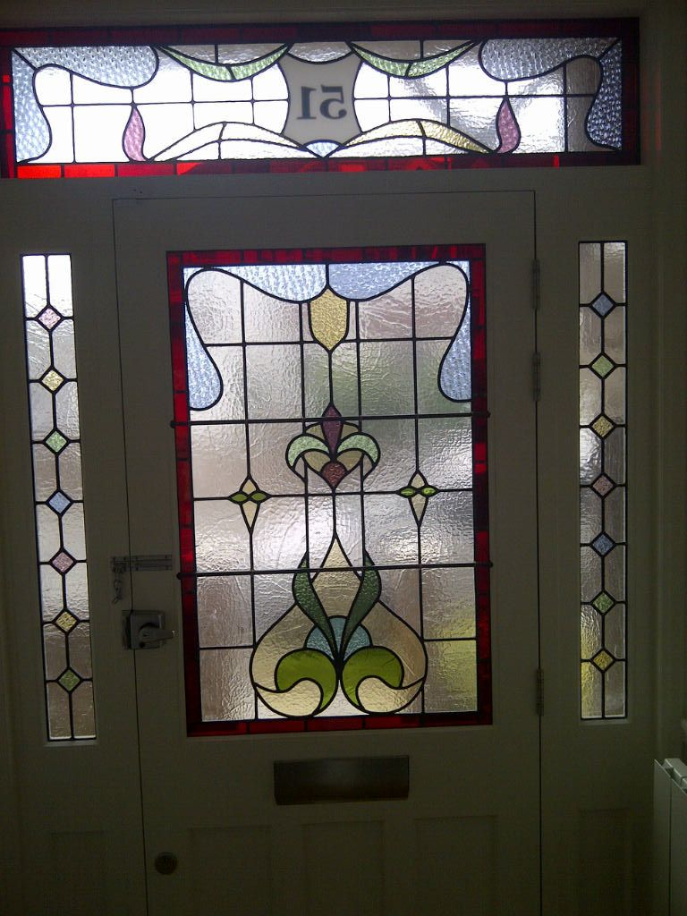 Edwardian Stained Glass Front Doors Google Search Stained