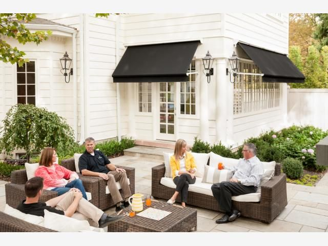 House · Retractable Window Awnings | Sugar ...