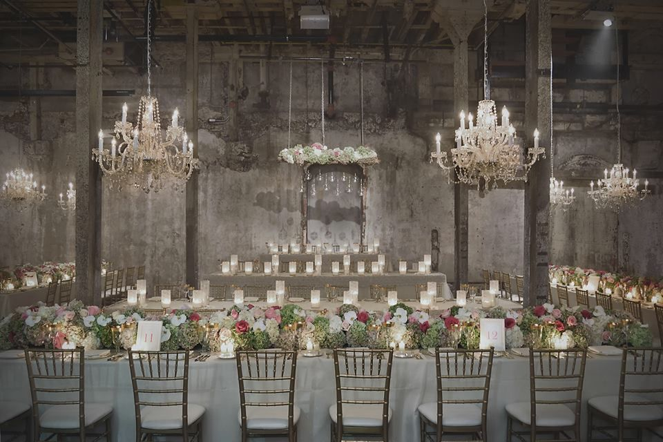 Such a unique venue for a wedding. View this trendsetting