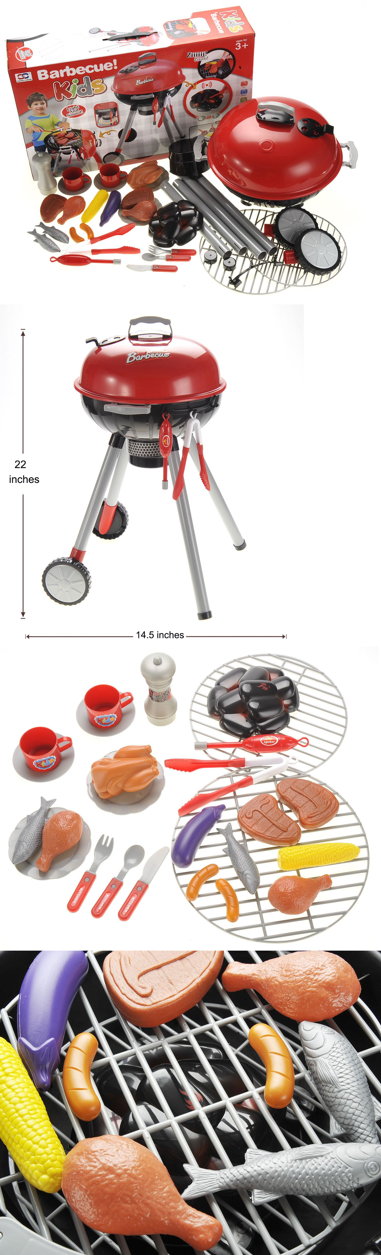 Child Size 2574 Bbq Grill Playset Toy It Now Only 35 On Ebay