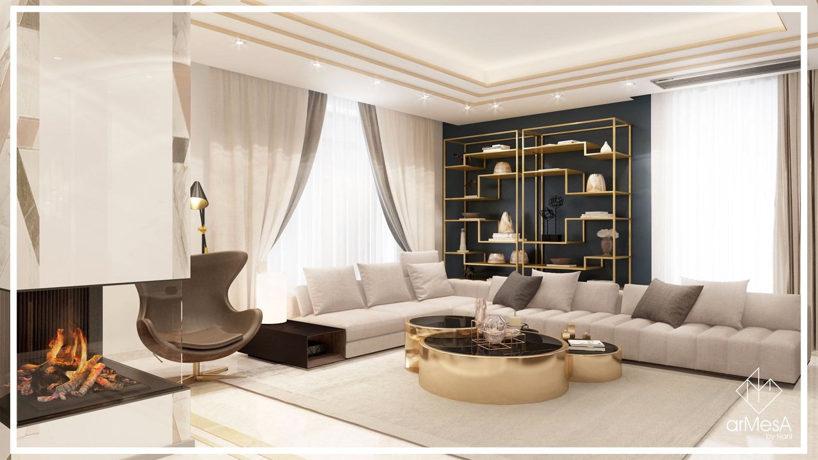 Luxurious Home Situated In Yerevan Designed By Armesa By Hani Art Deco Is One Of Those Design Styles That Defies The Pass Home Luxury Homes Home Living Room