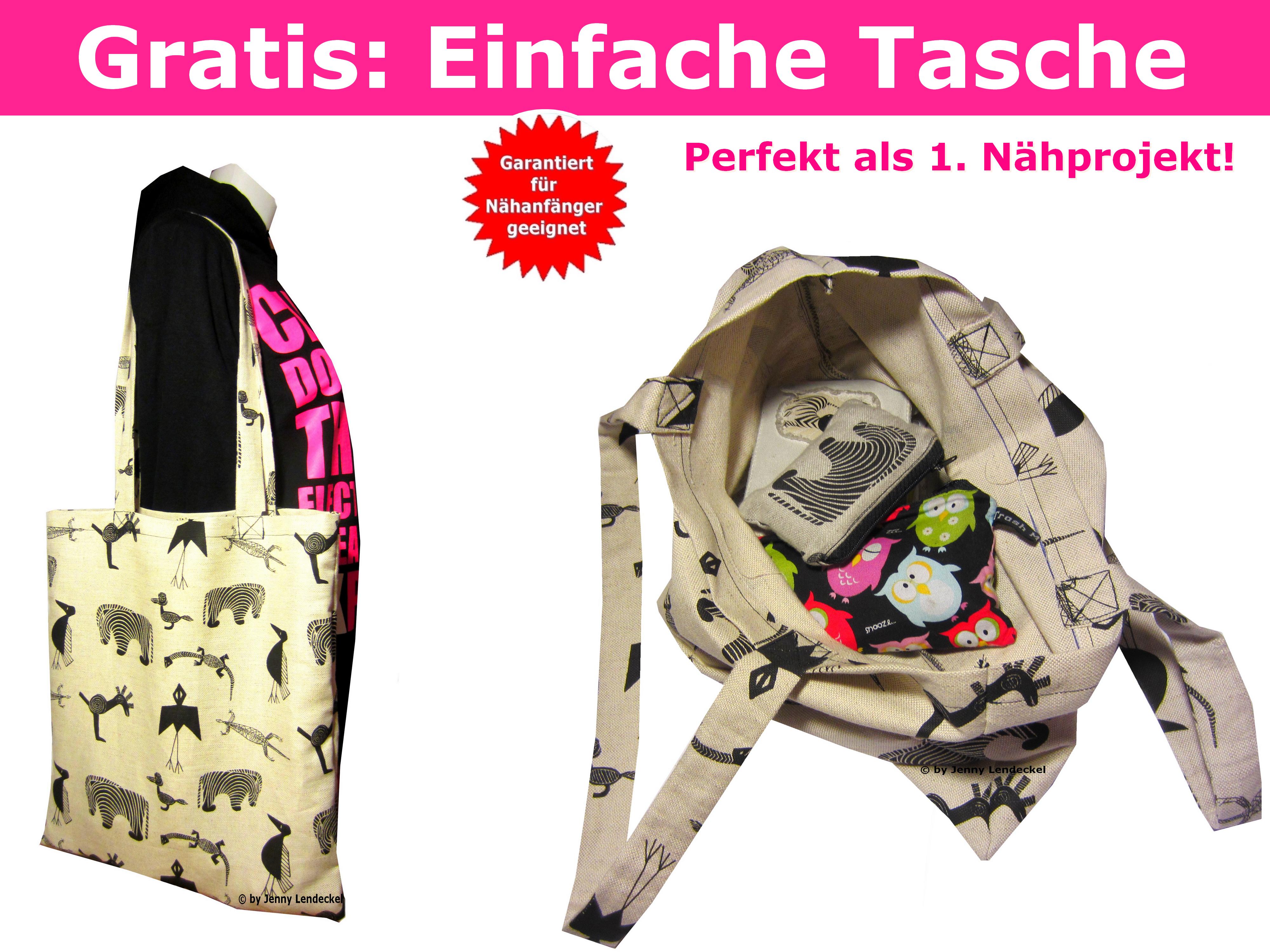 kostenlose-naehanleitung-schnittmuster-tasche | Tasche | Pinterest ...
