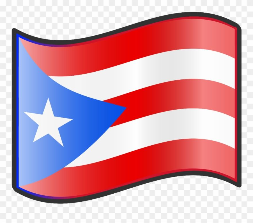 Puertorico Island Country Tropical Stickerflag Sticker Puerto Rican Flag Clipart Png Download Puerto Rican Flag Puerto Rico Puerto Ricans