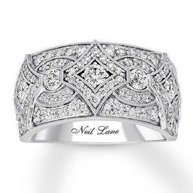 8a4f6e948 Neil Lane Diamond Anniversary Band 1-1/2 cts tw 14K White Gold in ...