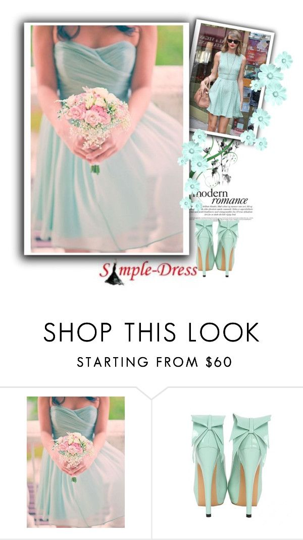 """""""SIMPLE-DRESS 10"""" by emily-5555 ❤ liked on Polyvore featuring modern, women's clothing, women, female, woman, misses and juniors"""