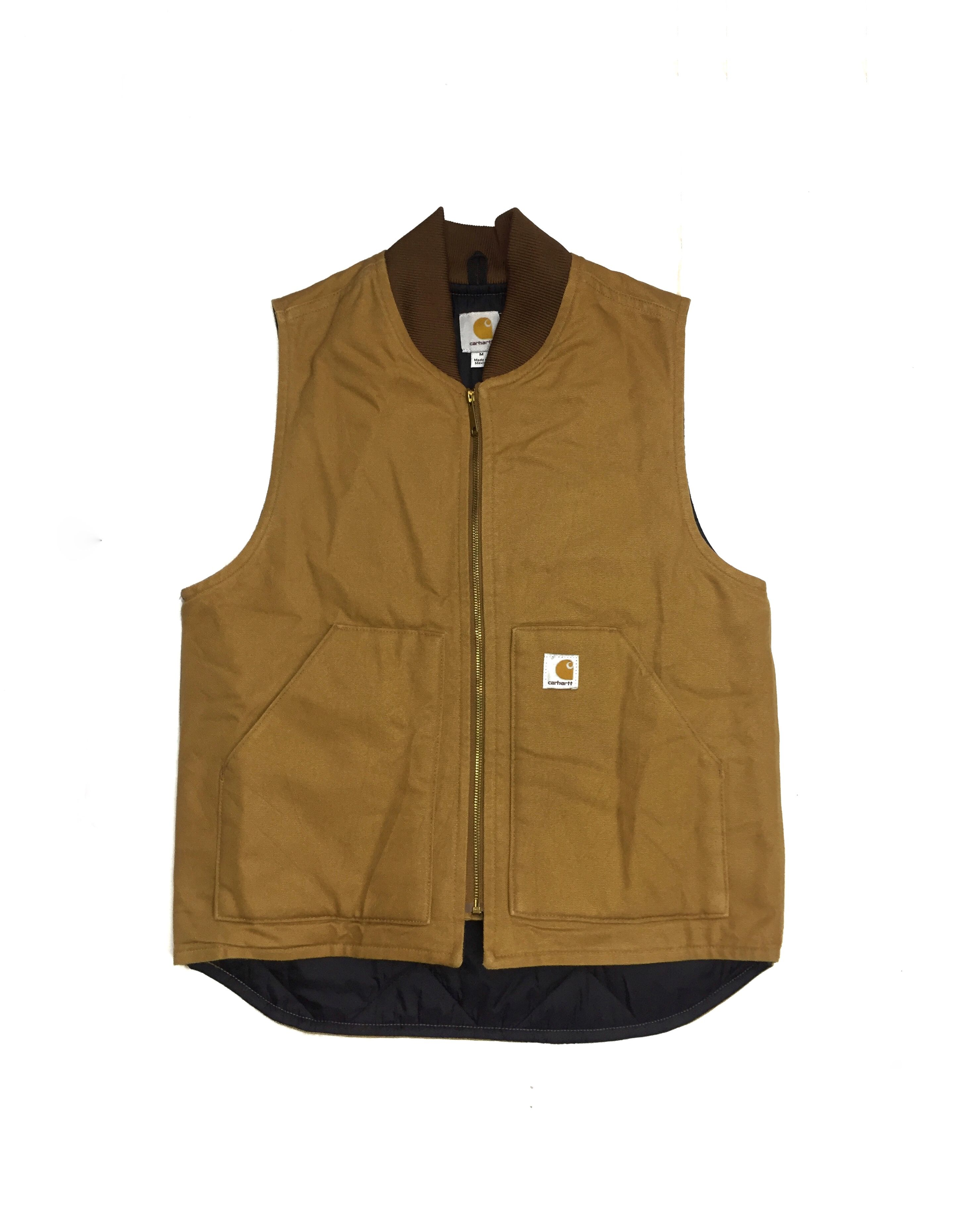 differently stable quality unique design Carhartt Vest Jacket Condition : very good used item ...
