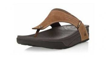 110fd09c8 63% off cheap Mens Fitflops Dass Sandals Brown sale with Free Shipping!