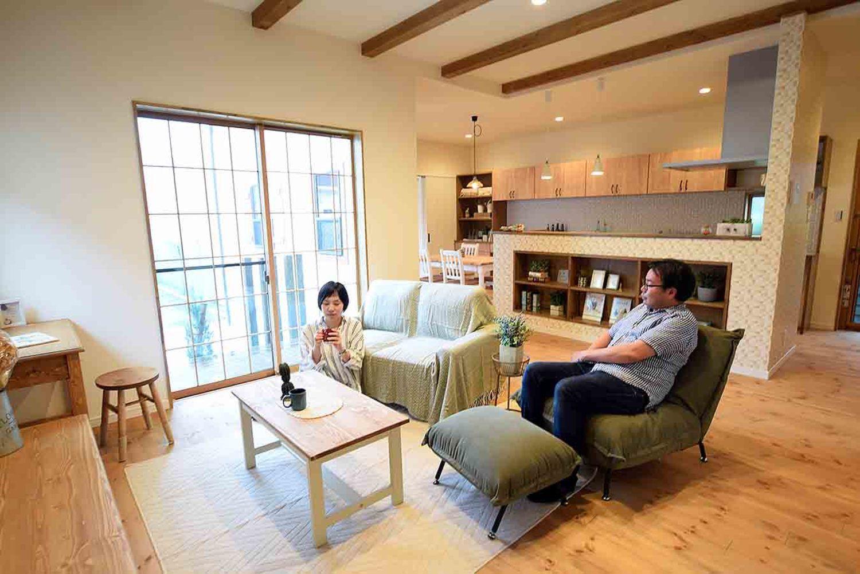 アンティーク小物の映えるお家 宮崎で注文住宅を建てる東洋ホームの