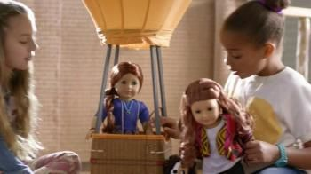 Girls imaginations run wild when they play with Saige, the new American Girl of the Year. She loves horses, hot air balloons, and having fun with her friends.- iSpot.tv