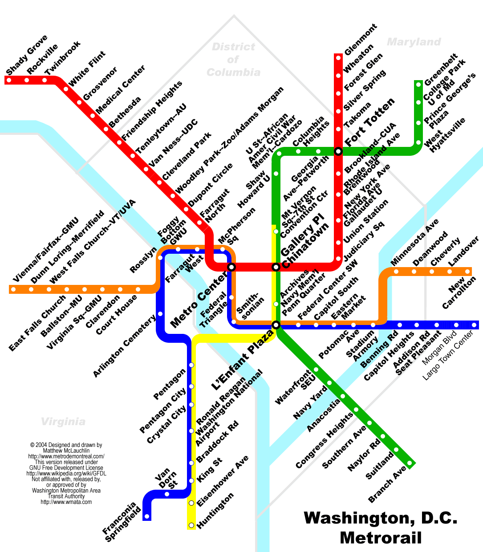 Metro Washington Subtes Pinterest Washington Dc - Washington dc map landmarks