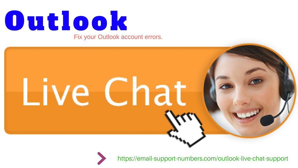 Outlook live chat support Fix email errors instantly
