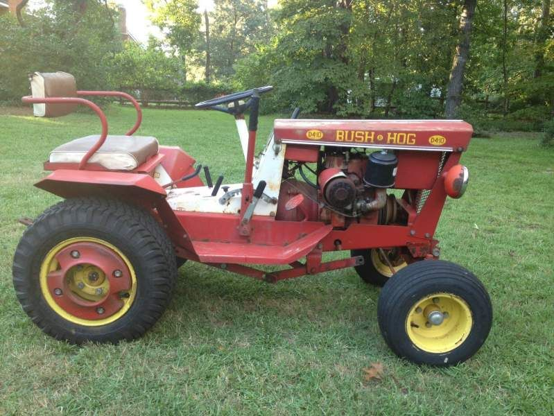 Bush Hog D4 10 Bush Hog Gallery Garden Tractor Pulling Yard