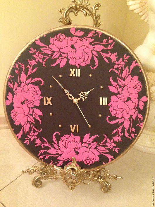 9975872c6ac4 Часы для дома ручной работы. Ярмарка Мастеров - ручная работа. Купить Часы  настенные Розы