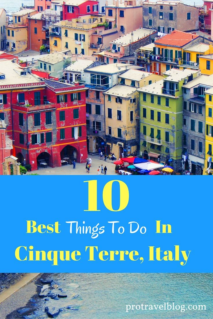 things to do in cinque terre (cinque terre points of interests