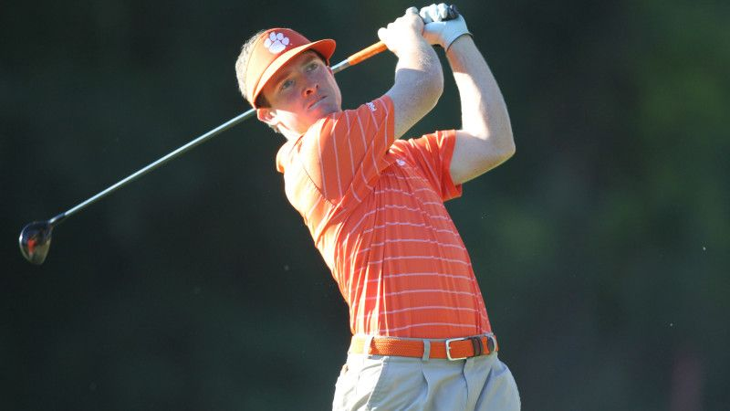Stephen Behr in Third Place at Linger Longer Invitational - http://beachcarolina.com/?p=94220 ---    #Clemson golf #Clemson Tigers #Clemson Tigers golf #Clemson University #Linger Longer Invitational #Stephen Behr