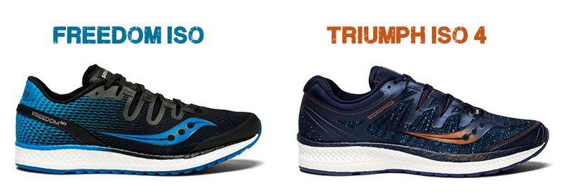Saucony Triumph Iso 4 Zapatillas Running Mujer Azul