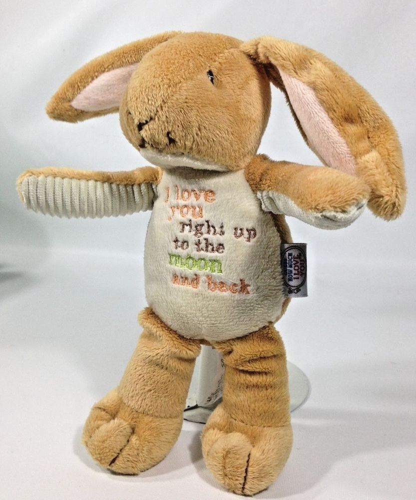 Guess How Much I Love You Plush Bunny Moon Back Nutbrown Hare 9