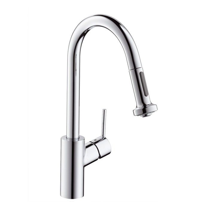 Hansgrohe Talis S² - Single Lever Kitchen Mixer with pull-out spray ...