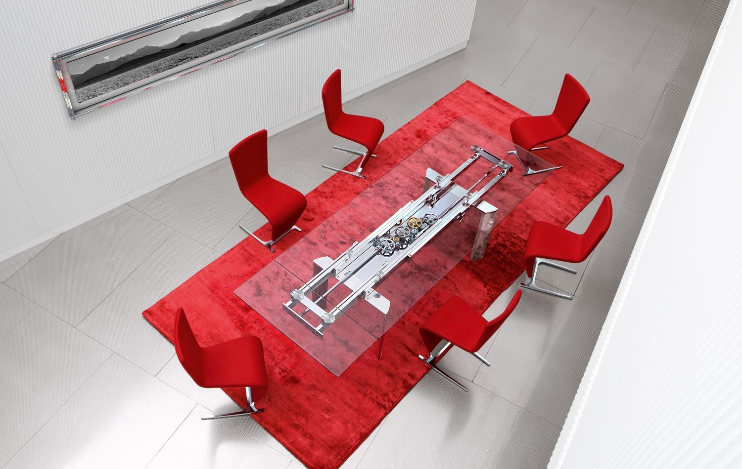 Astrolab Dining Table by Roche Bobois -- if only I had $12K to ...