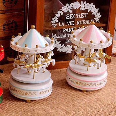 Wooden #merry-go-round carousel #music box for kids children #girls gift,  View more on the LINK: http://www.zeppy.io/product/gb/2/301583082833/