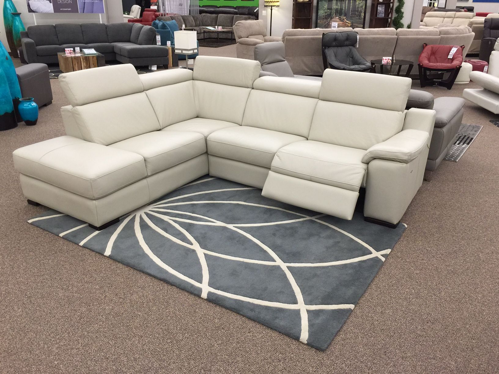 The Ashlynn Sectional just arrived at Sofa Land! This 100% leather piece features one · ReclinersSofas & The Ashlynn Sectional just arrived at Sofa Land! This 100% leather ... islam-shia.org
