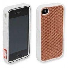 Vans Phone Case para iPhone 4 Carcasa Blanca $15470